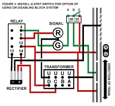 layout building tips when the switch is flipped the other way as is demonstrated in the diagram the relay is now being