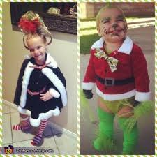 the grinch baby costume.  The Vandy As Cindy Lou Who And Paxton Baby Grinch Grinch For The Costume F