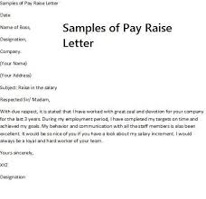Salary Letters From Employer Salary Increase Letter Template To Employee Salary Increase Letter
