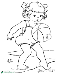 Mom junction presents you with summer coloring sheets printable to make your kid's day a little brighter. Summer Coloring Pages