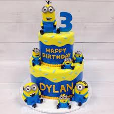 Birthday Minion Cake Minion Cakes In 2019 Minion Birthday Boys
