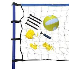 chair volleyball net. portable volleyball net, posts, ball \u0026 pump set chair net