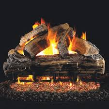 Peterson Split Oak Designer Plus Peterson Real Fyre 24 Inch Split Oak Gas Logs Only No Burner