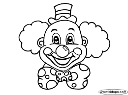 Small Picture New Clown Coloring Pages 93 For Your Picture Coloring Page with