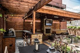 Outdoor Kitchen Roof Similiar Rustic Outdoor Kitchen Bar With Roof Keywords