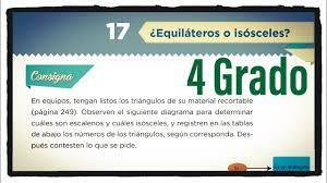 Libros de texto de la sep tareas respuestas contestados explicaciones grados 1 2 3 4 5 6 desafíos. Desafio 17 Cuarto Grado Equilateros O Isosceles Paginas 35 Y 36 Del Libro Matematicas De 4 Grado Youtube