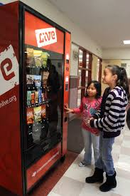 Vending Machines In Schools Adorable Fake Vending Machine Dispenses Advice At Schools The Salt Lake Tribune