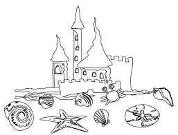Unlock Preschool Colouring Pages Free Printable Beach Coloring For