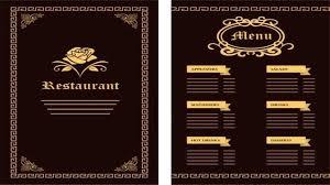 Restaurant Menu Template Microsoft Word Atlasapp Co