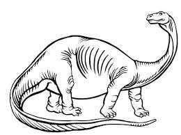 Disegno Da Colorare Il Brontosauro Nostrofiglioit