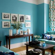 Turquoise Accent Walls