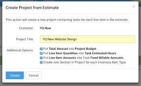 how to create a project budget can i create a project from an estimate avaza support