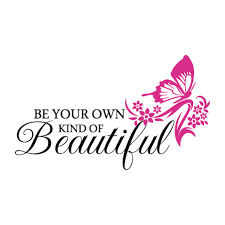 Be Your Own Kind Of Beautiful Quotes Best of Own Kind Of Beautiful Butterfly Wall Quotes™ Decal WallQuotes