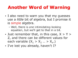 another word for warning important information ppt download