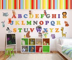 animal alphabet abc nursery decor