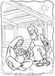Manger Coloring Pages To Print Wumingme