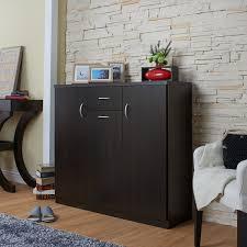 furniture shoe cabinet. wonderful shoe furniture of america ekko contemporary espresso 10shelf shoe cabinet for