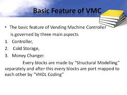 Write Vhdl Program Code For A Vending Machine Simple Vending Machine Controller Using VHDL