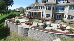 replacing existing retaining walls for