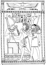 Small Picture Ancient egypt coloring pages coloringtopcom Pinteres