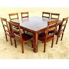 square dining table for 8 rustic square dining table rustic 9 square dining room table for