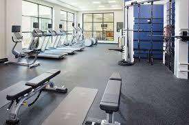 fitness exercise room hilton garden inn south arlington