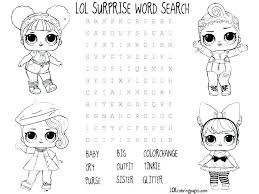 Doll Coloring Pages Surprise Coloring Pages Cheeky Babe Surprise