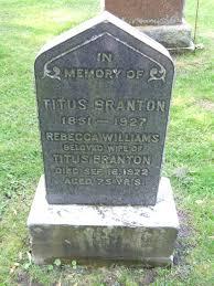 Roots and Stones: Branton / Williams, Oshawa Union (Tombstone Tuesday)