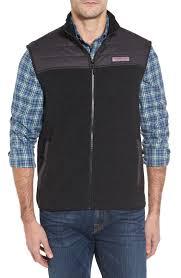 Men's Vests: Denim, Down & Puffer | Nordstrom & vineyard vines Quilted Yoke Fleece Vest Adamdwight.com