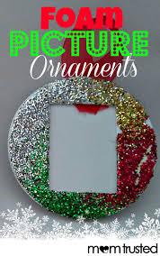 Easy Foam Picture Ornaments for Preschoolers - Preschool Activities and  PrintablesPreschool Activities and Printables