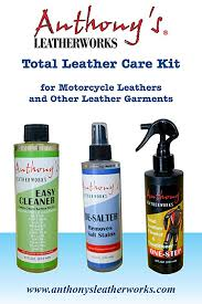 total leather care. Simple Care Anthonyu0027s Leatherworks Total Leather Care Kit For Motorcycle Leathers  Gloves Purses Shoes In