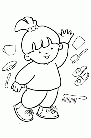 Small Picture Coloring Page Of Boy Body Coloring Home