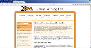 Website Wednesdays Mla Parenthetical Citations Fiu Writing In History