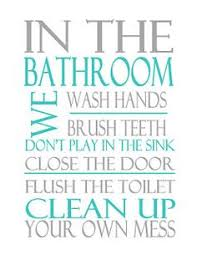 printable bathroom signs for kids.  Bathroom 40 Fabulously Free Bathroom U0026 Laundry Room Printables  Happy Friday  Inspiration And Inside Printable Signs For Kids A