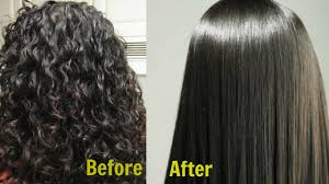 Permanent Hair Straightening Pics