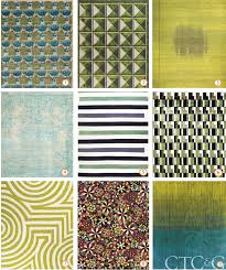 decorative rugs in green