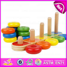 china 2016 new arrival montessori teaching toys educational toy wooden stacking toy stacking baby brain development toys w13d063 china wooden