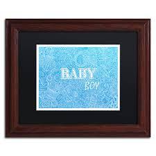 framed wall art for baby boy
