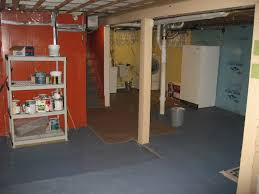 Unfinished Basement Ideas For Functional Room Interiors Home Design - Creepy basement bedroom