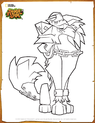 Small Picture Image Greely coloring pagepng Animal Jam Wiki FANDOM