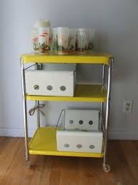 office rolling cart. simple cart bright yellow metal rolling cart tea serving office cosco table with