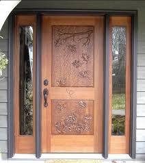 beautiful design front door front wooden door design
