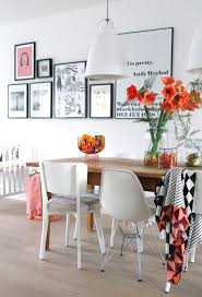 Dining Room: Black And White Dining Room Gallery Wall - Dining Room