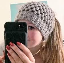 Bun Hat Crochet Pattern Awesome Ravelry PUFF STITCH BUN HAT Pattern By Wilma Westenberg