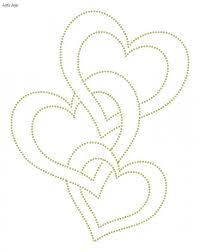 Free Printable String Art Patterns Heart