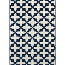 baja navy 2 ft x 5 ft indoor outdoor area rug