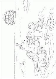 Kleurplaat Tv Series Kleurplaat Lars De Ijsbeer Animaatjesnl
