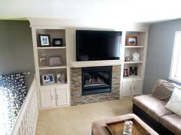 fireplace makeover built shelving wood mantel shelf plans free woodworking