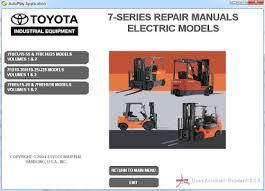 Toyota Forklift Wiring Diagram TCM Forklift Parts Breakdown