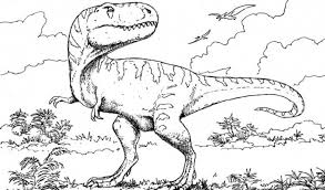 Small Picture Velociraptor Coloring Pages GetColoringPagescom